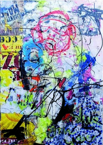 BARTHOLOMÉO - Gemälde - Folie moderne
