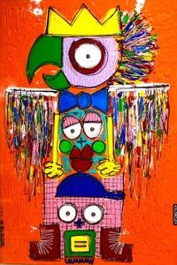 David FERREIRA - Painting - Totem