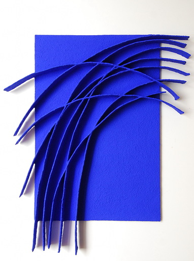 René GALASSI - Painting - Arches bleues