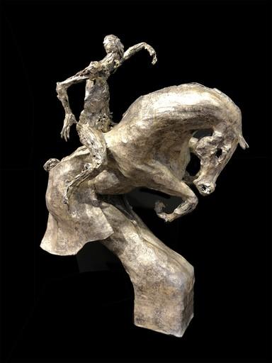 Val CARR-ORTOLAN - Escultura - Cavalier