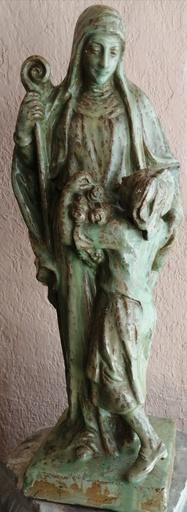 Ernest WEBER - Escultura - Sainte Odile et l'Alsace
