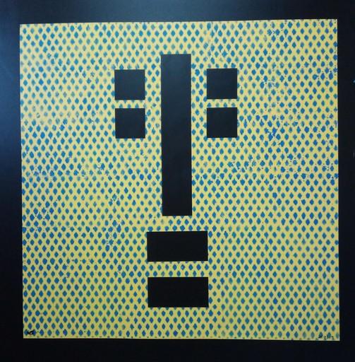 Harry BARTLETT FENNEY - Pittura - meditation yellow blue