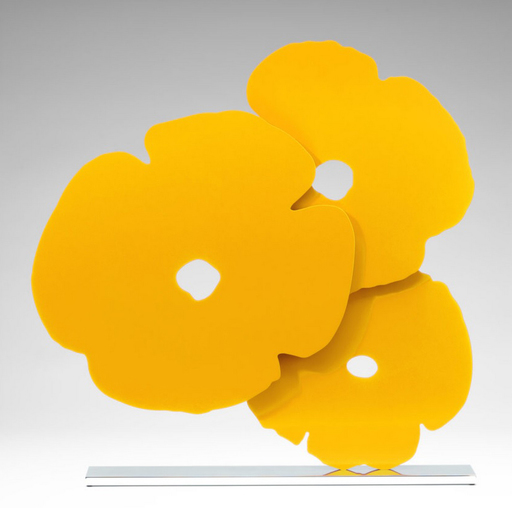 Donald SULTAN - Sculpture-Volume - Yellow poppies