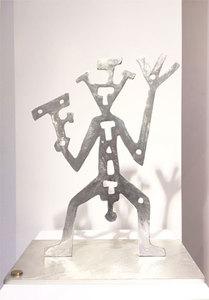 A.R. PENCK - Sculpture-Volume - Krieger