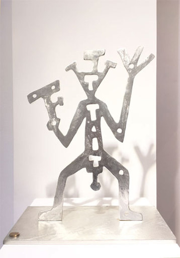 A.R. PENCK - Sculpture-Volume - Krieger