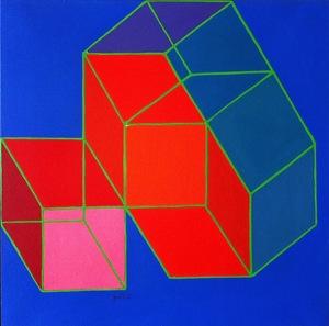 Achille PERILLI - Painting