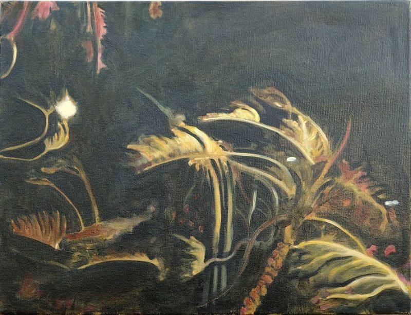 Clémence ARNOLD - Painting - « Nightlife II »