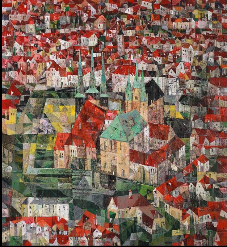 Iris BAND - Painting - Erfurt