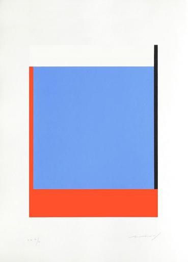Aurélie NEMOURS - Print-Multiple - Avec droite rose