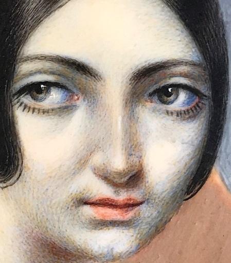 Madeleine LEMAIRE - Gemälde - c. 1870-75 George Sand vers 30ans (1804-1876)