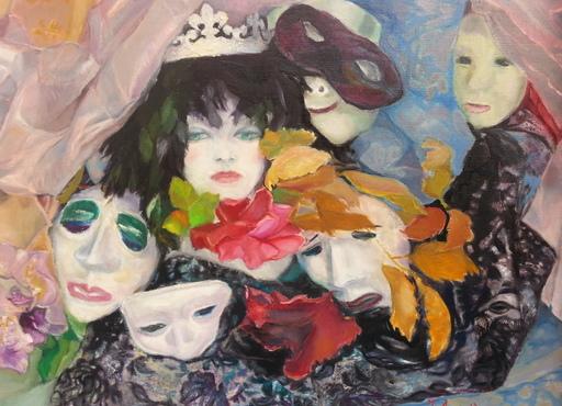 Jeanne AUBRIERE - Pintura - La Reine