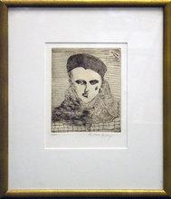 Milton Clark AVERY - Print-Multiple - Sally With Beret