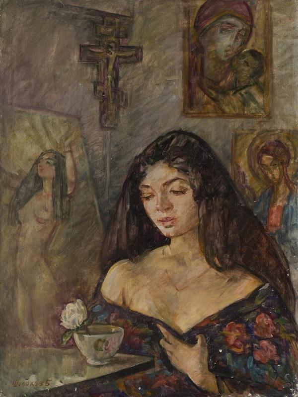 Boris Anatolievich SHOLOKOV - Pittura - Sinner
