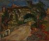 "Joseph LEVIN - Peinture - ""Motif of Provence"" oil on canvas, 1920/30s"