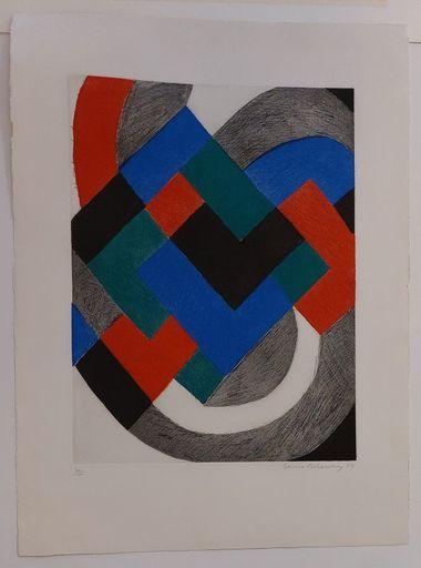 Sonia DELAUNAY - Print-Multiple - Sans titre