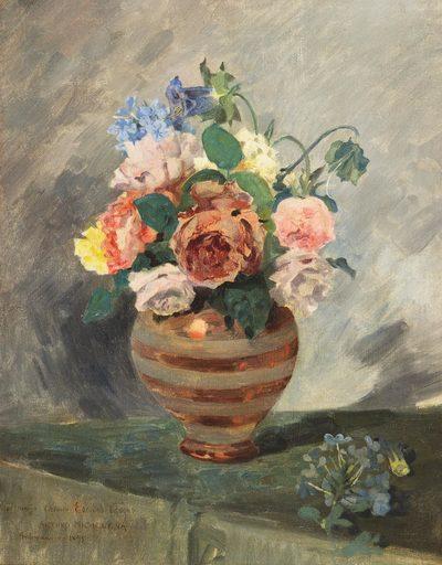 Arturo MICHELENA - Gemälde - Flores