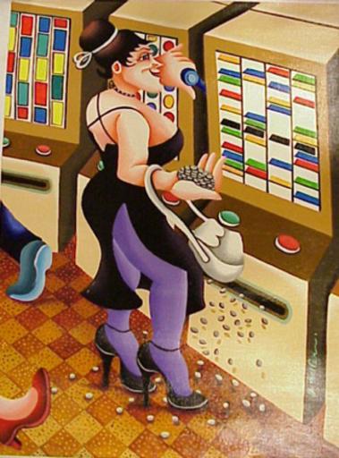 Yuval MAHLER - Pintura - Casino Series
