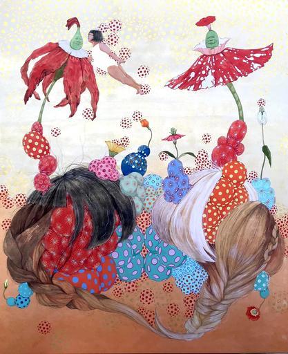 Mari ITO - 绘画 - Origen del deseo - Energía invisible