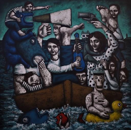 Nicolas MONJO - Pintura - Sans titre