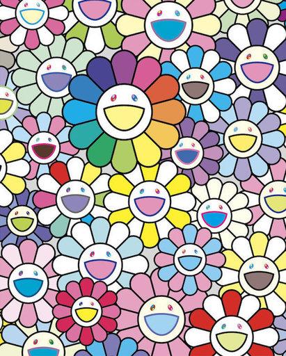 Takashi MURAKAMI - Print-Multiple - Flowers of Hope