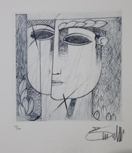 Saad BEN CHEFFAJ - Grabado