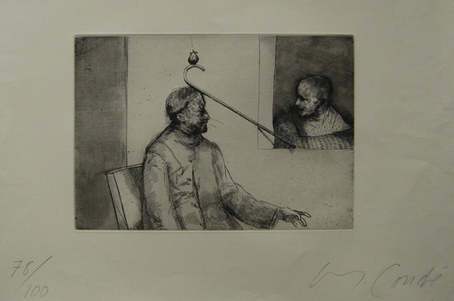 Miguel CONDÉ - 版画 - GRAVURE SIGNÉE AU CRAYON NUM/100 HANDSIGNED NUMB ETCHING