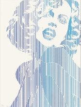 Werner BERGES - Estampe-Multiple - Marilyn Monroe I