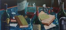 Dima GORBAN - Peinture - Bottles