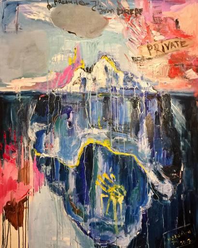 Julia PEKER-MOKHOVIKOVA - Pintura - Private place
