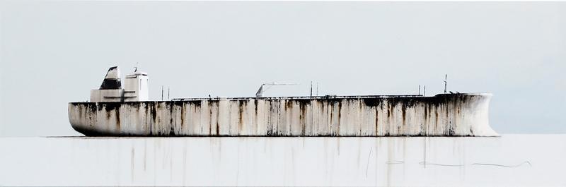 Stéphane JOANNES - Painting - Tanker