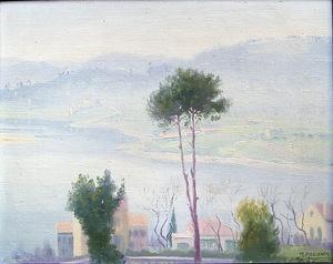 Manuel ABELENDA ZAPATA - Pintura - niebla