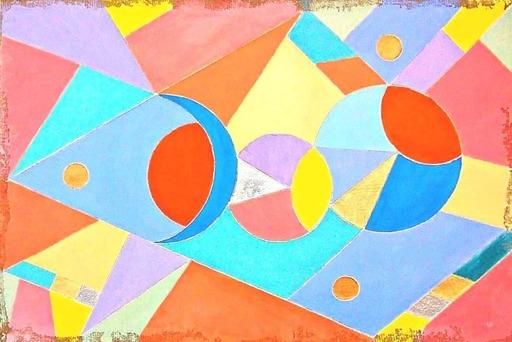 Lorena ULPIANI - Painting - Infiniti mondi - abstract fresco painting