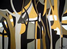 Brigitte THONHAUSER-MERK - Pintura - Forêt en Automne