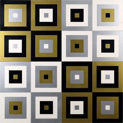 Jerzy GROCHOCKI - Skulptur Volumen - Symmetrical Vectors