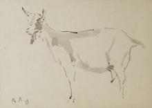 Vladimir Vasil'evich LEBEDEV (1891-1967) - The Goat