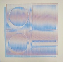 Carlos CRUZ-DIEZ - Grabado - Composition