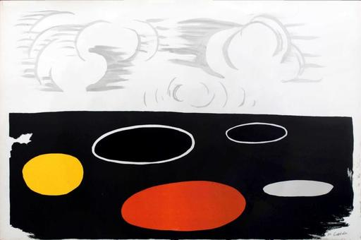 Alexander CALDER - Print-Multiple - Maree Basse (Low Tide)