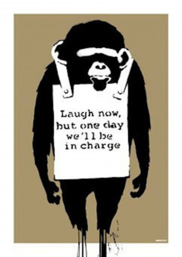BANKSY - Print-Multiple - Laugh now, 2003 (signed)