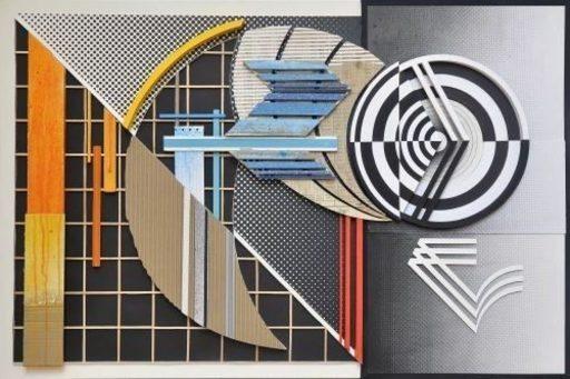 GILBERT1 - Gemälde - Assemblage #3