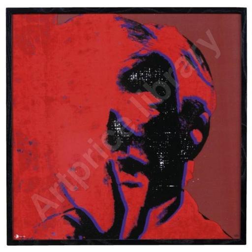 Andy WARHOL - Ceramic - self portrait