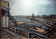 Auguste CHABAUD - Pintura - le pont