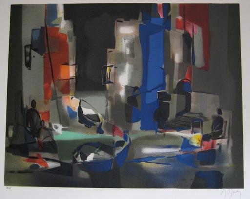 Marcel MOULY - Print-Multiple - LITHOGRAPHIE SIGNÉE AU CRAYON EA HANDSIGNED LITHOGRAPH