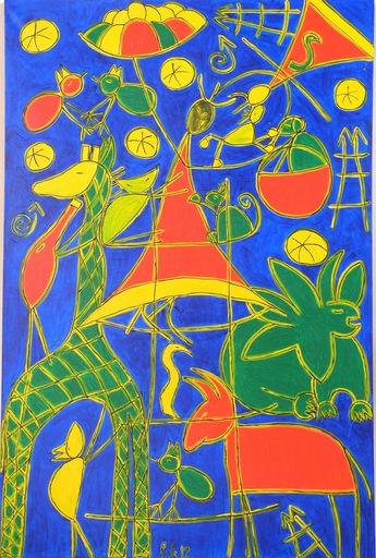 Heike KARCHER - Peinture - La larme