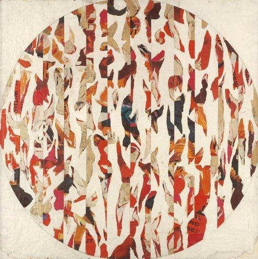 Richard ALLEN - Painting - Untitled Pop Collage, c1962