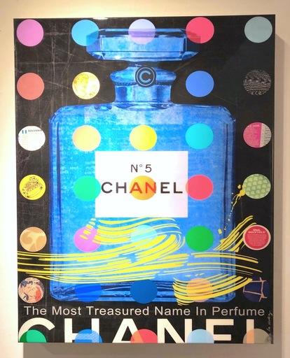 Nelson DE LA NUEZ - Grabado - Chanel N°5 black