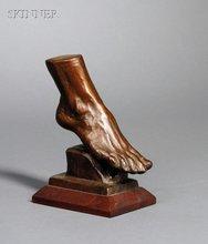 Gleb W. DERUJINSKY - Escultura - A Graceful Arch -Anna Pavlova's foot.