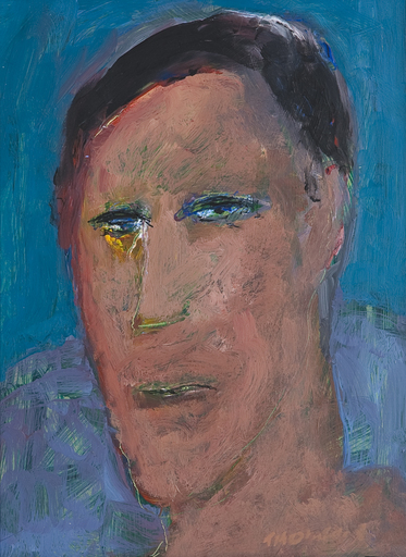 Douglas THOMSON - Painting - Bushman