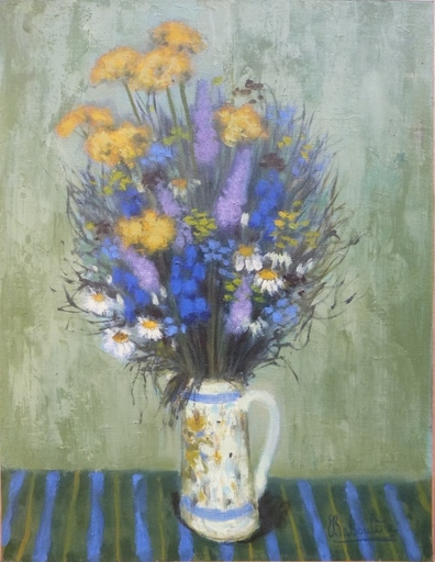 Eugène BABOULENE - Pittura - Bouquet