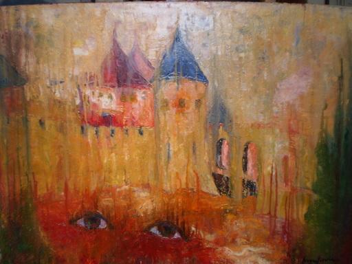 Serge SIEVIC - Peinture - regard du passé