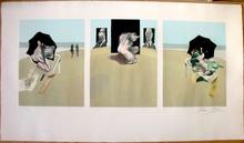 Francis BACON - Estampe-Multiple - Metropolitan Triptych